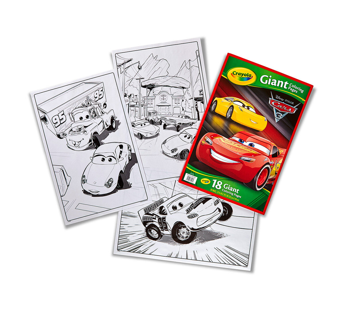 Crayola Giant Coloring Pages, Cars 3, Oversized Coloring Pages, Art ...