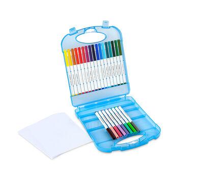 Supertips Washable Markers & Paper Set