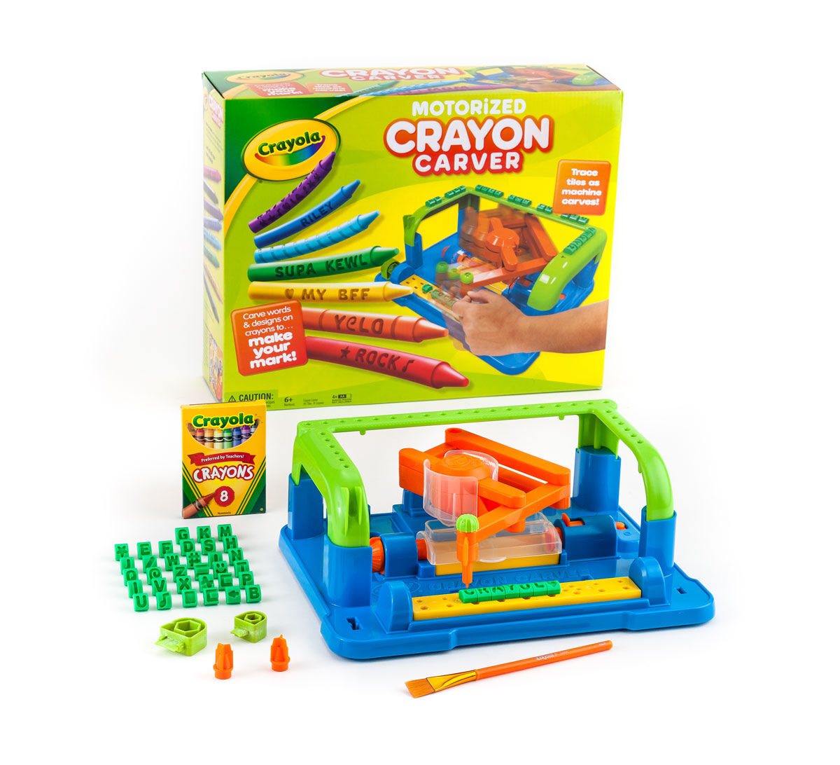 crayola crayon carver instructions