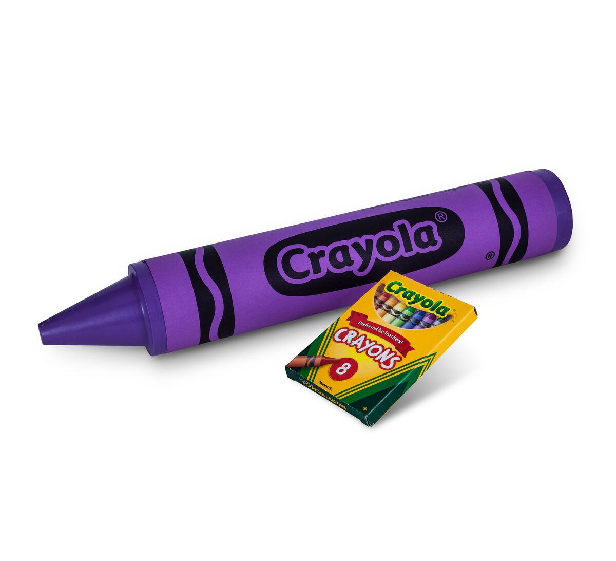 Purple Crayola Crayon Crayola MEGA Cr...