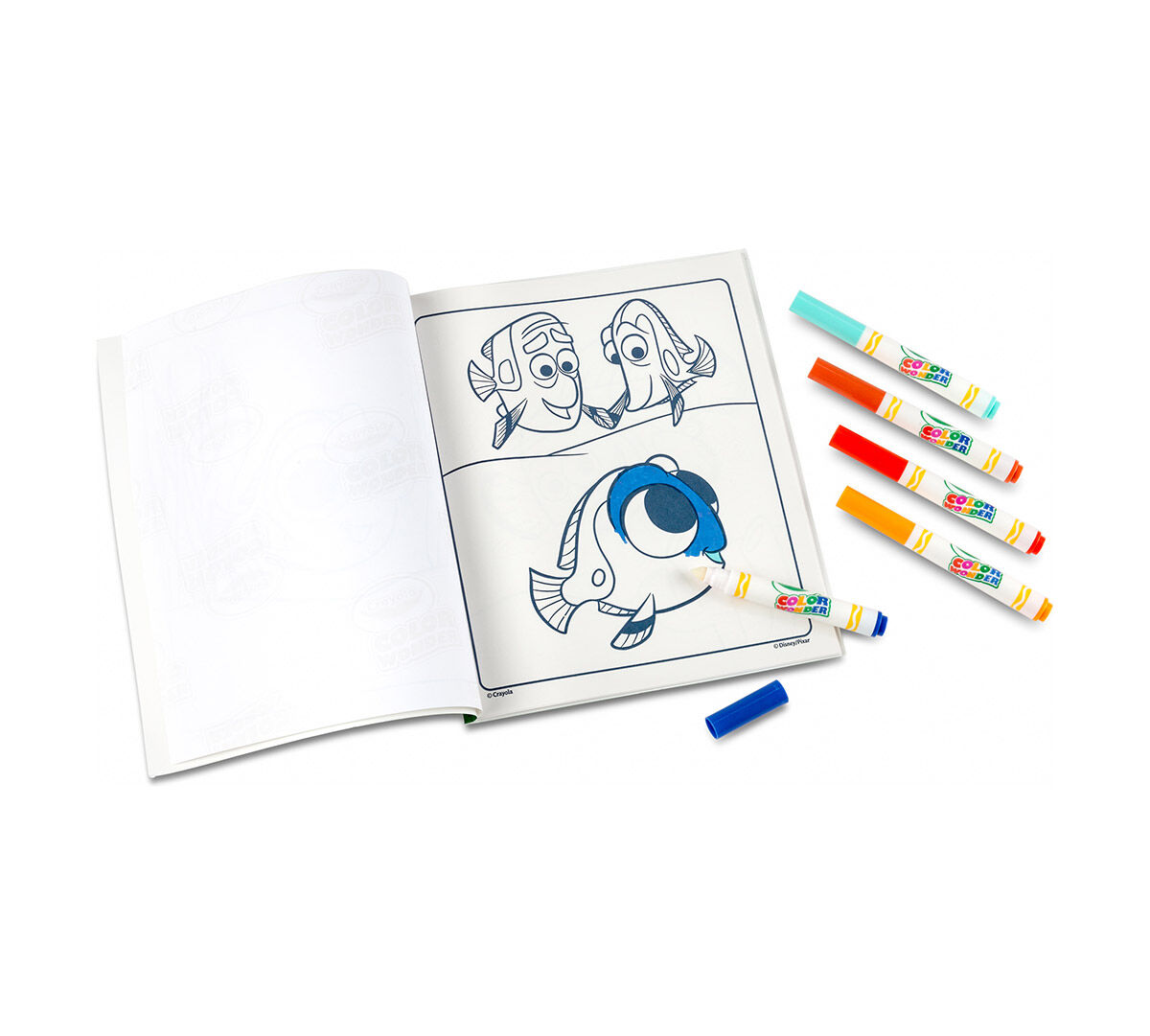 Color Wonder Coloring Pad & Markers, Finding Dory - Crayola