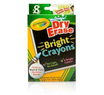 Dry-Erase Bright Crayons