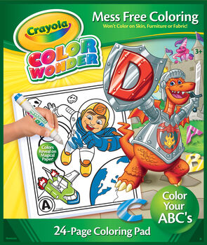 Color Wonder Assorted Coloring Pads Case - Crayola