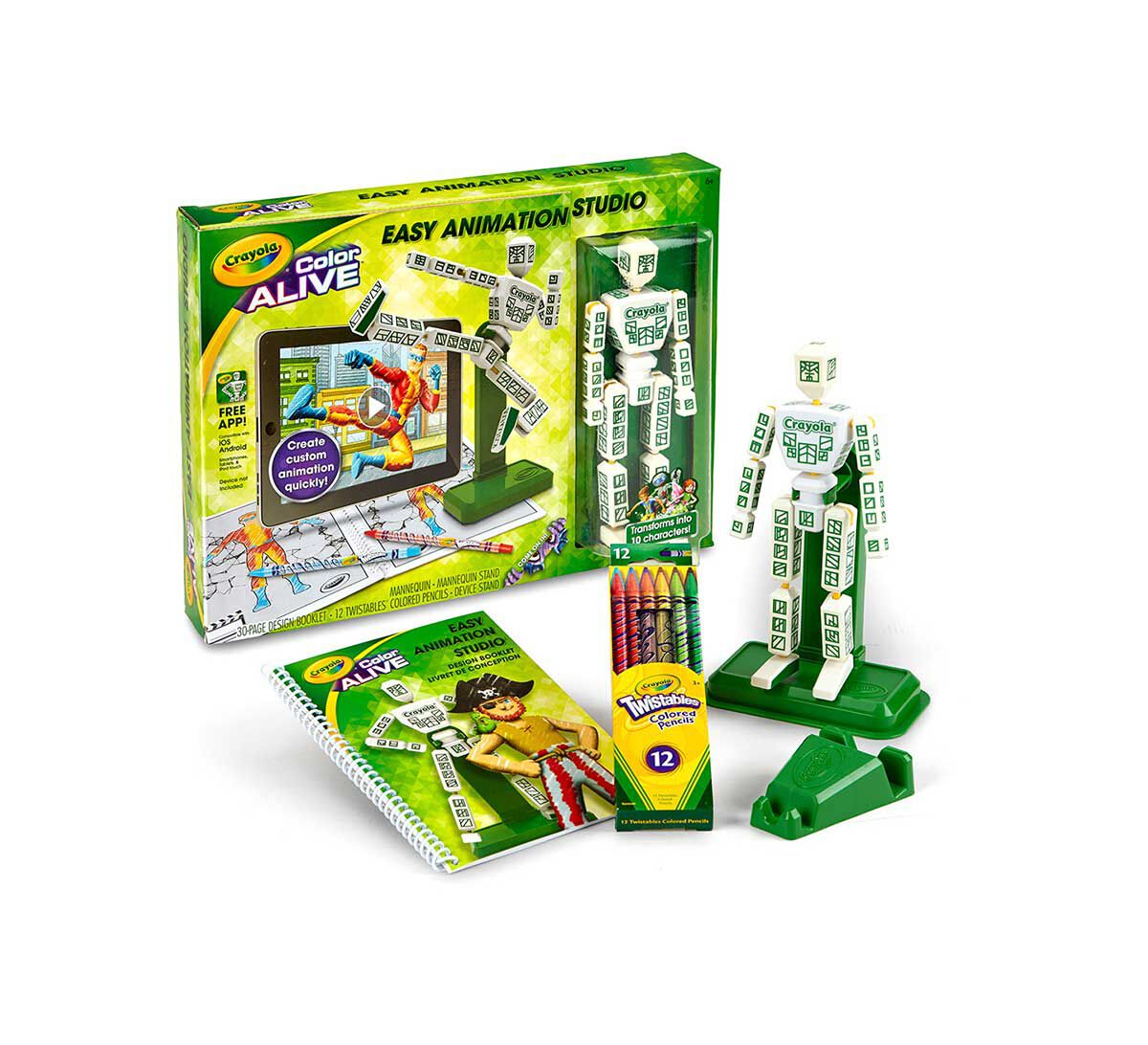 easy animation studio crayola