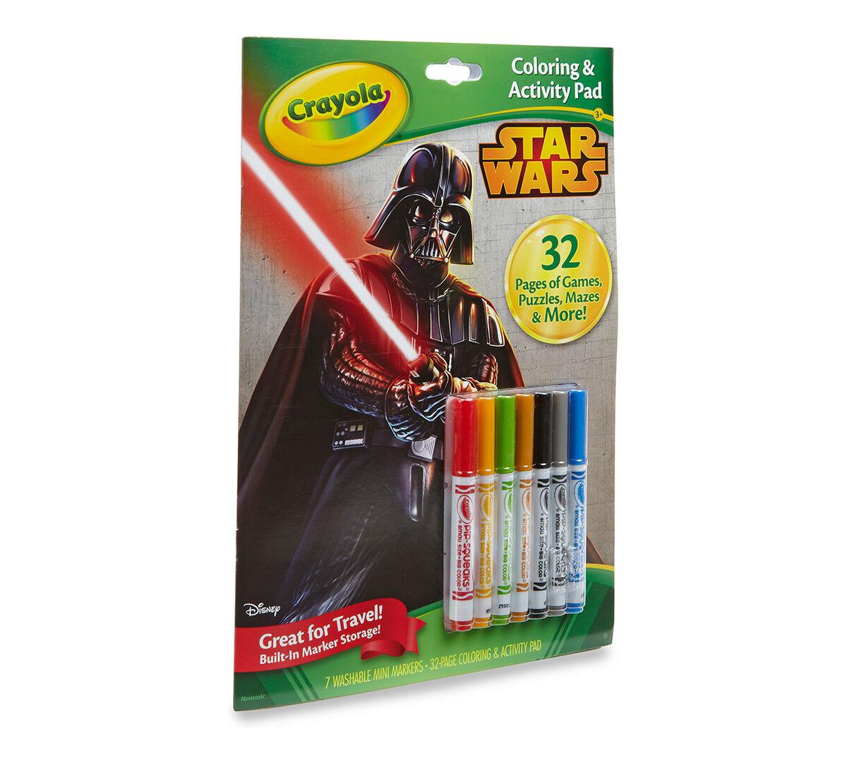 Crayola Coloring & Activity Pad - Star Wars - Crayola