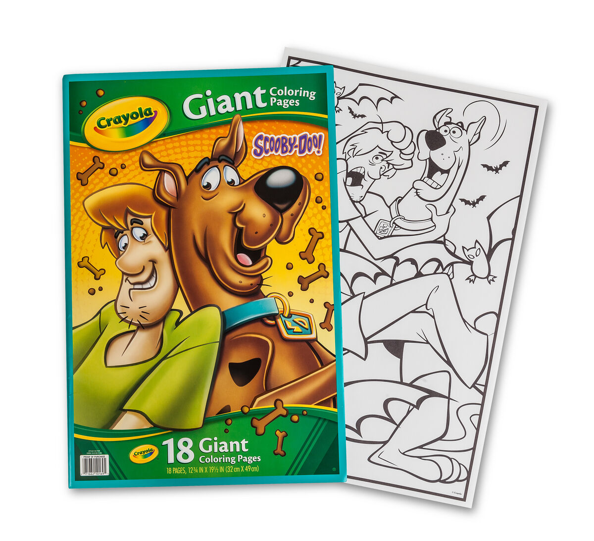 giant coloring pages scooby doo - Giant Coloring Books