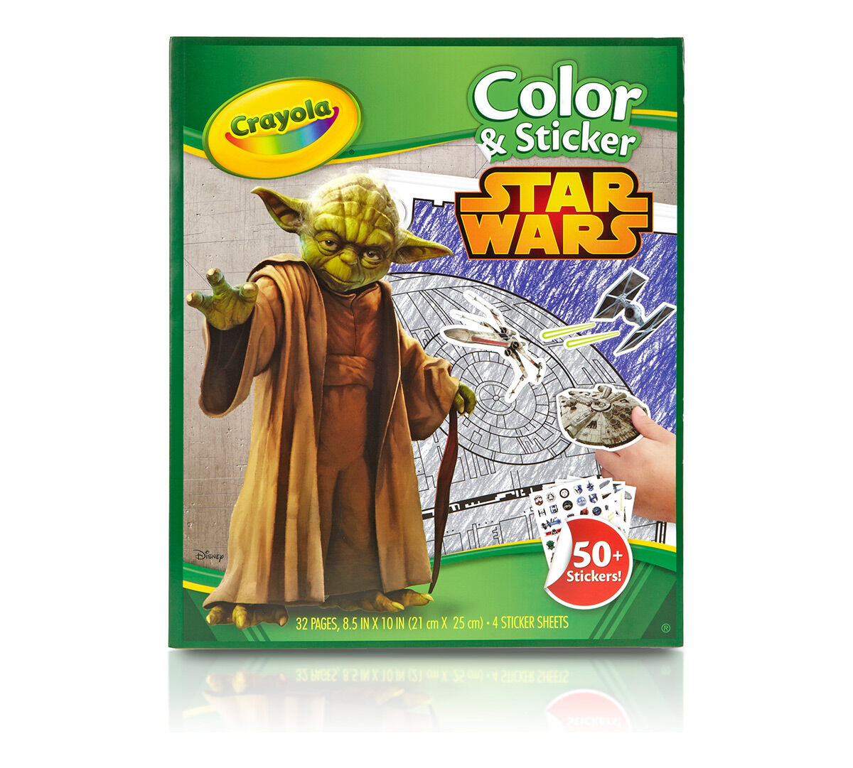 crayola color sticker book star wars