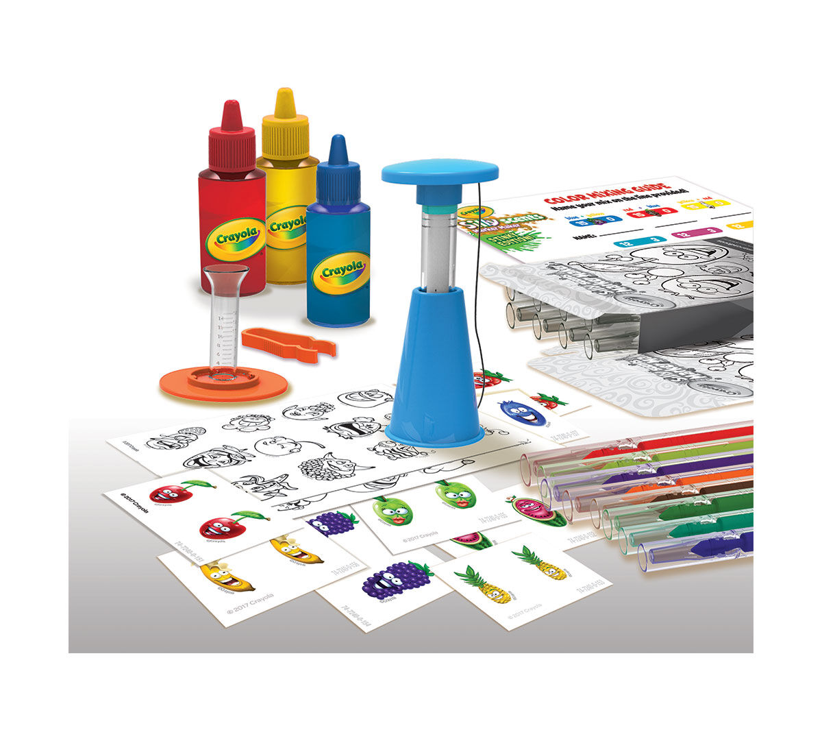 crayola marker maker mixing guide