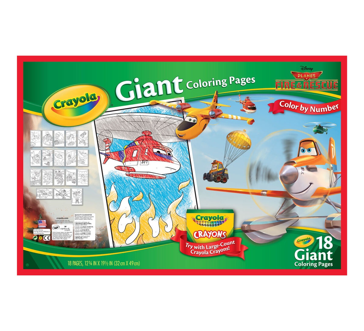 Giant Coloring Pages Disney Planes
