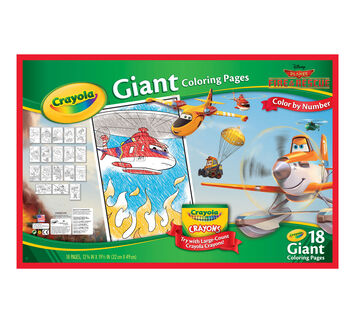 Giant Coloring Pages - Disney Planes Fire & Rescue