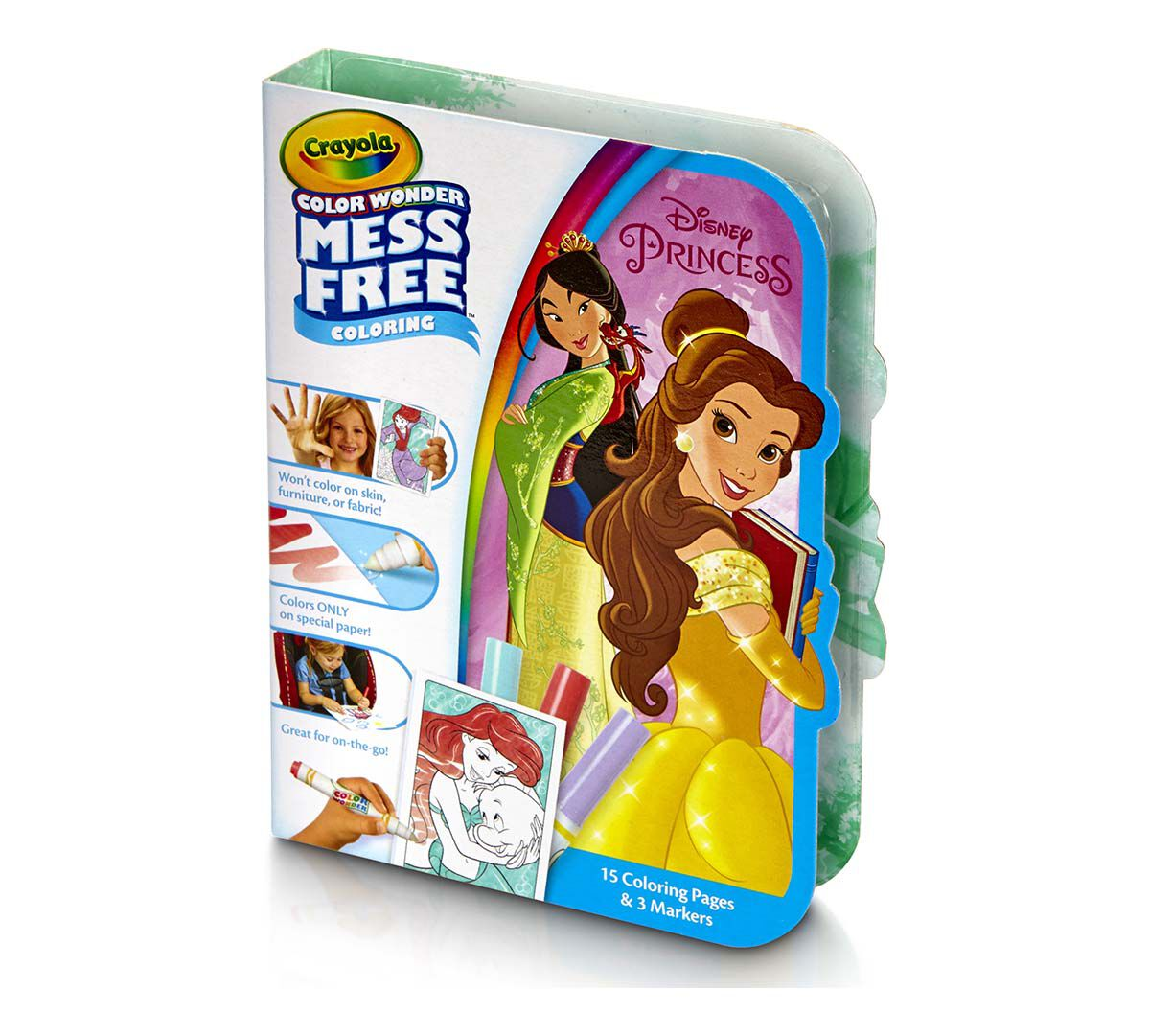 crayola disney princess color wonder on the go mess free