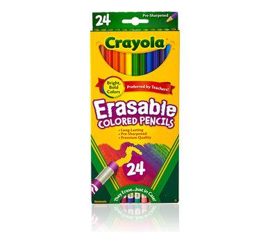 Erasable Colored Pencils 24 ct.