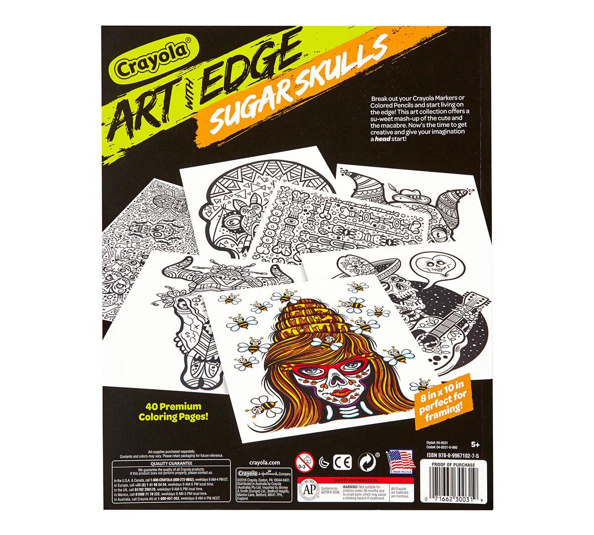 Art With Edge Sugar Skulls Crayola