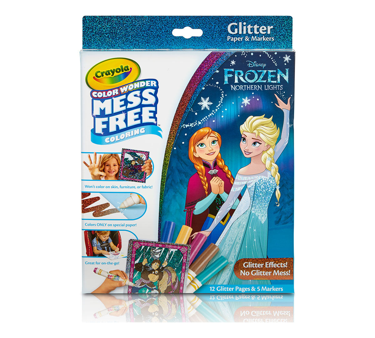 Color Wonder Glitter Paper And Markers Box Set Disney Frozen