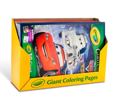 Giant Coloring Pages Assorted Bulk Case - Crayola