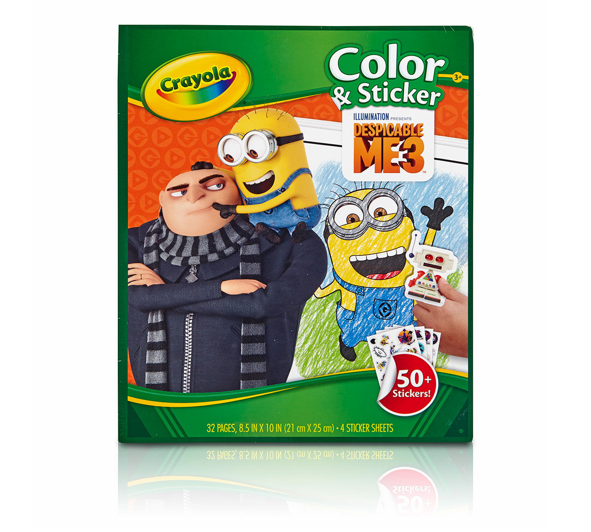 Crayola Color Amp Sticker Despicable Me Edition Art