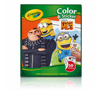 Color & Sticker, Despicable Me 3