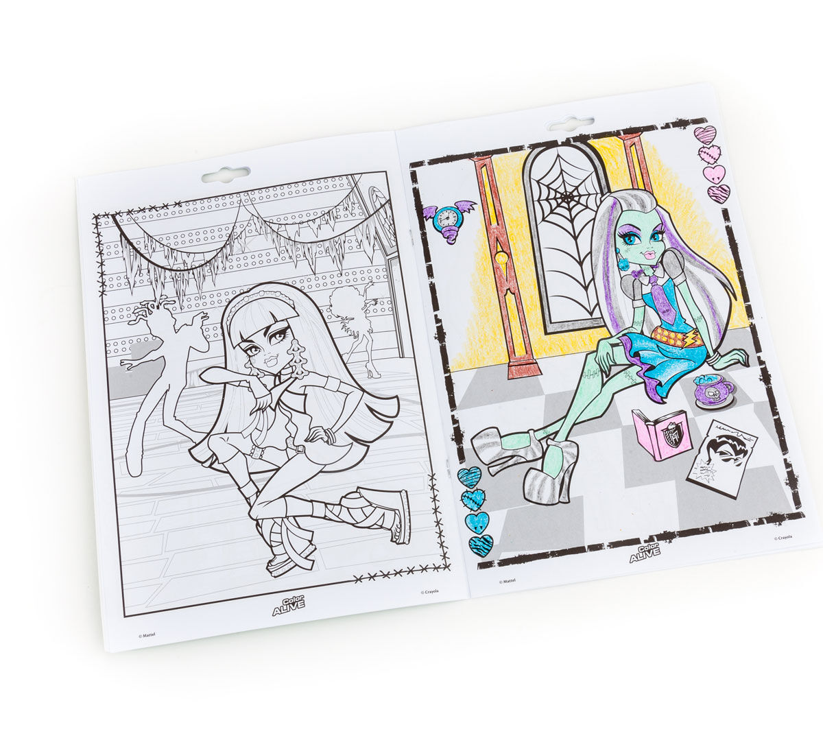 Color Alive - Monster High - Crayola
