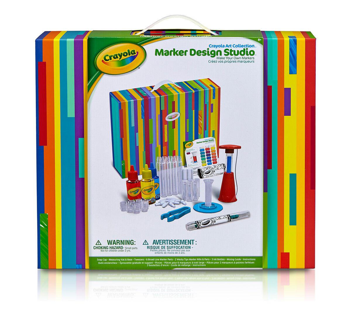 100 Crayola Make Your Own Coloring Amazon Com Crayola Imagination Art Case Amazon