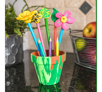 DIY Spring Pencil Topper Craft Kit