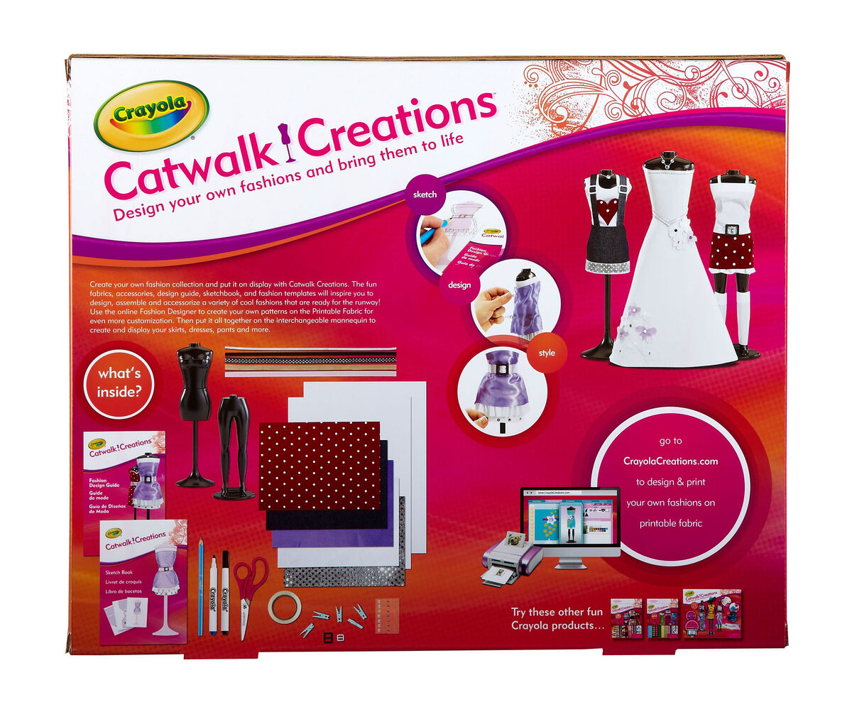 Catwalk creations crayola Crayola fashion design studio reviews
