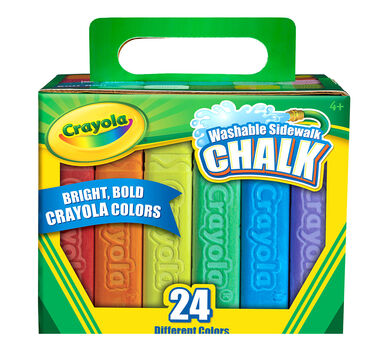 Sidewalk Chalk 24 ct.
