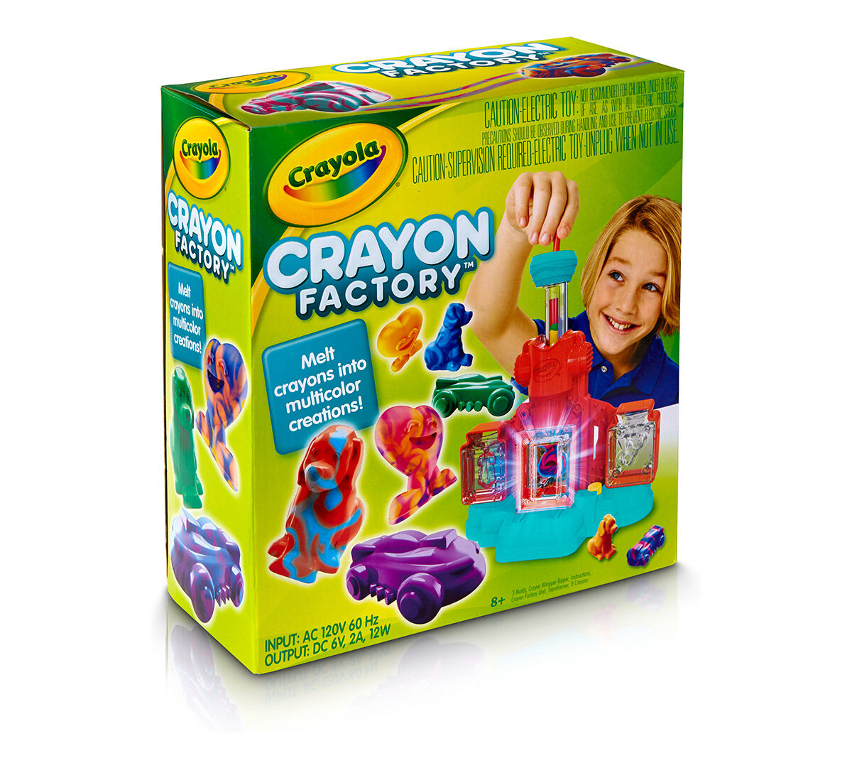 Colour, draw and create with these Crayola Twistable Crayons.