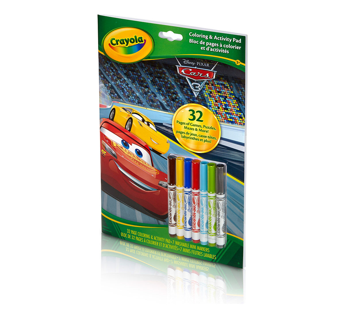 Cars 3, Art Activity, Pip Squeak Markers