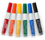 Silly Scents Wedge Tip Scented Washable Markers-6 ct.