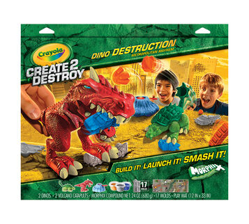 Morphix Create2Destroy Dino Destruction Metro Mayhem