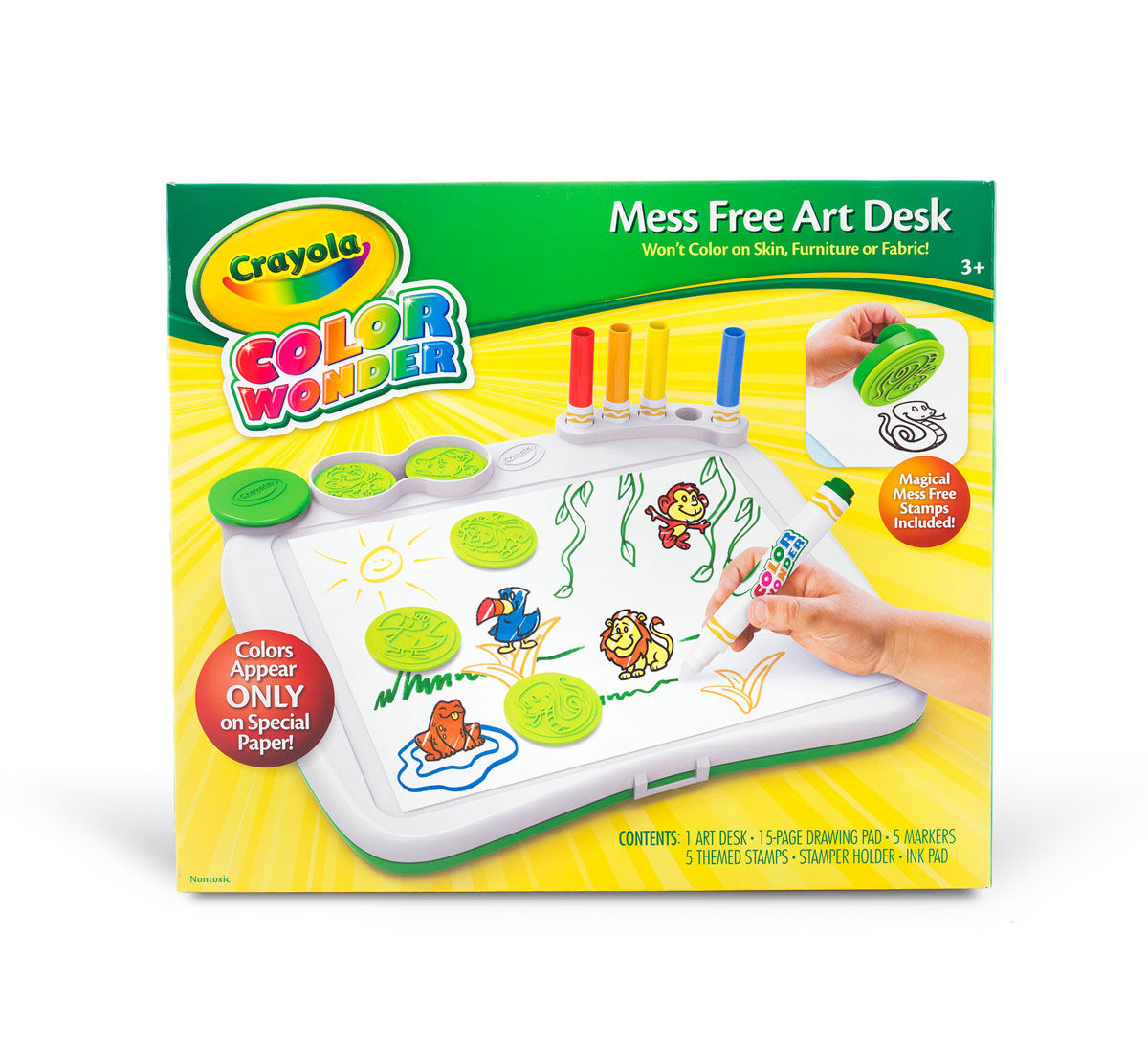 Color Wonder Mess Free Art Desk Crayola