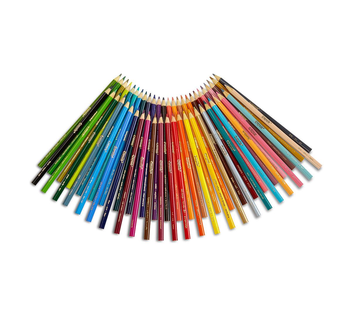 50 Ct Colored Pencils Long Crayola