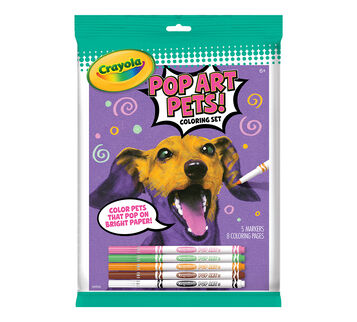 Pop Art Pets front of packaging