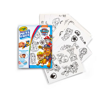 Color Wonder Stickers, Paw Patrol