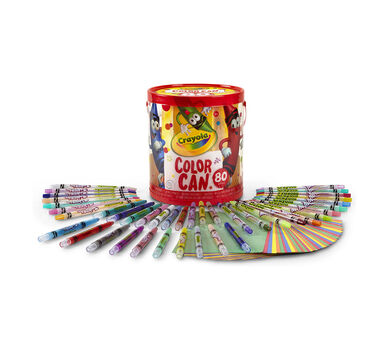 Crayola Color Can, 80 Piece Kit
