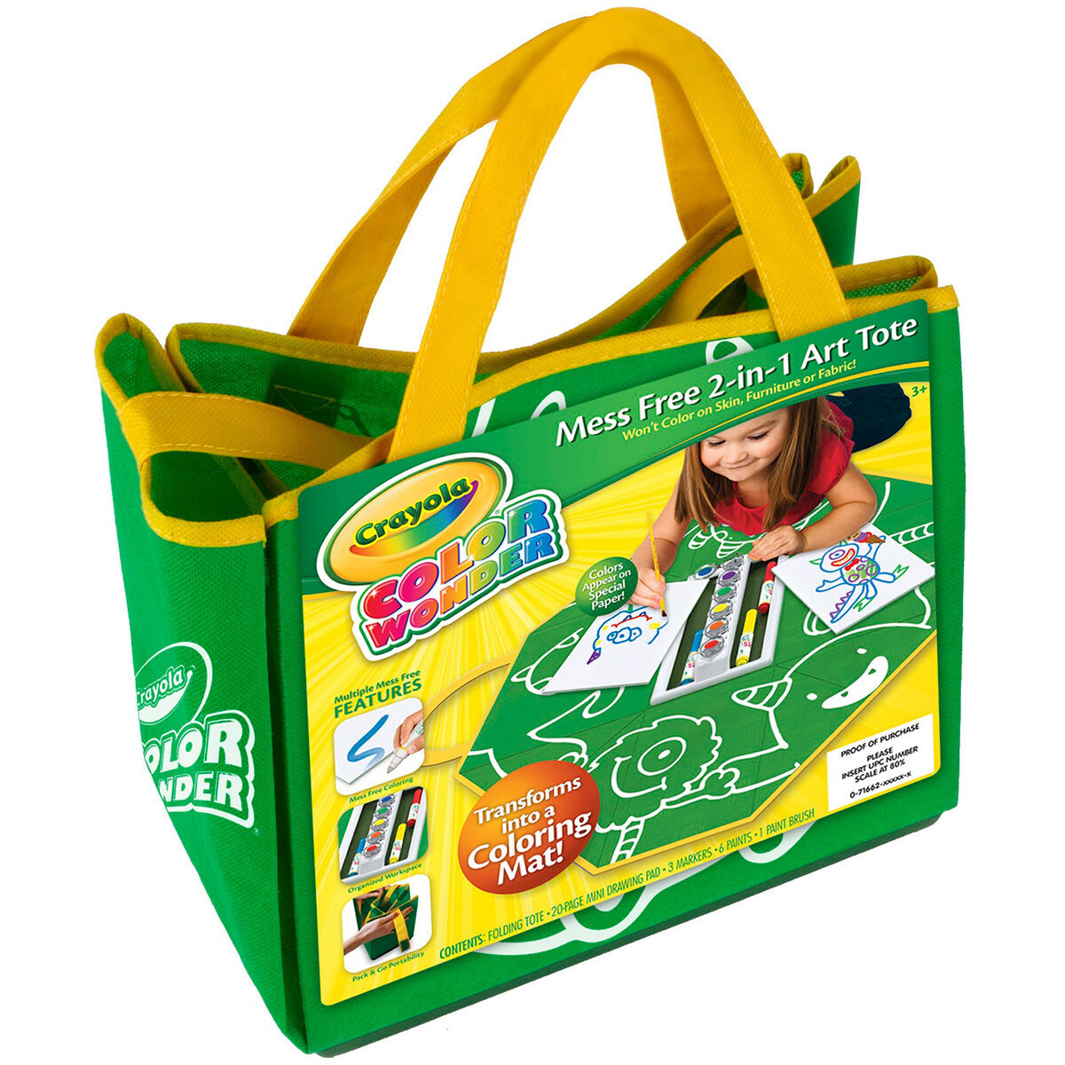 Color and art - Color Wonder Mess Free 2 In 1 Art Tote