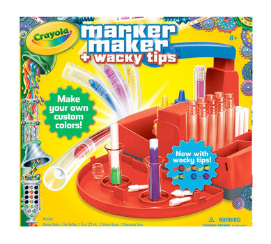 marker maker with wacky tips