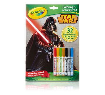 Crayola Coloring & Activity Pad - Star Wars