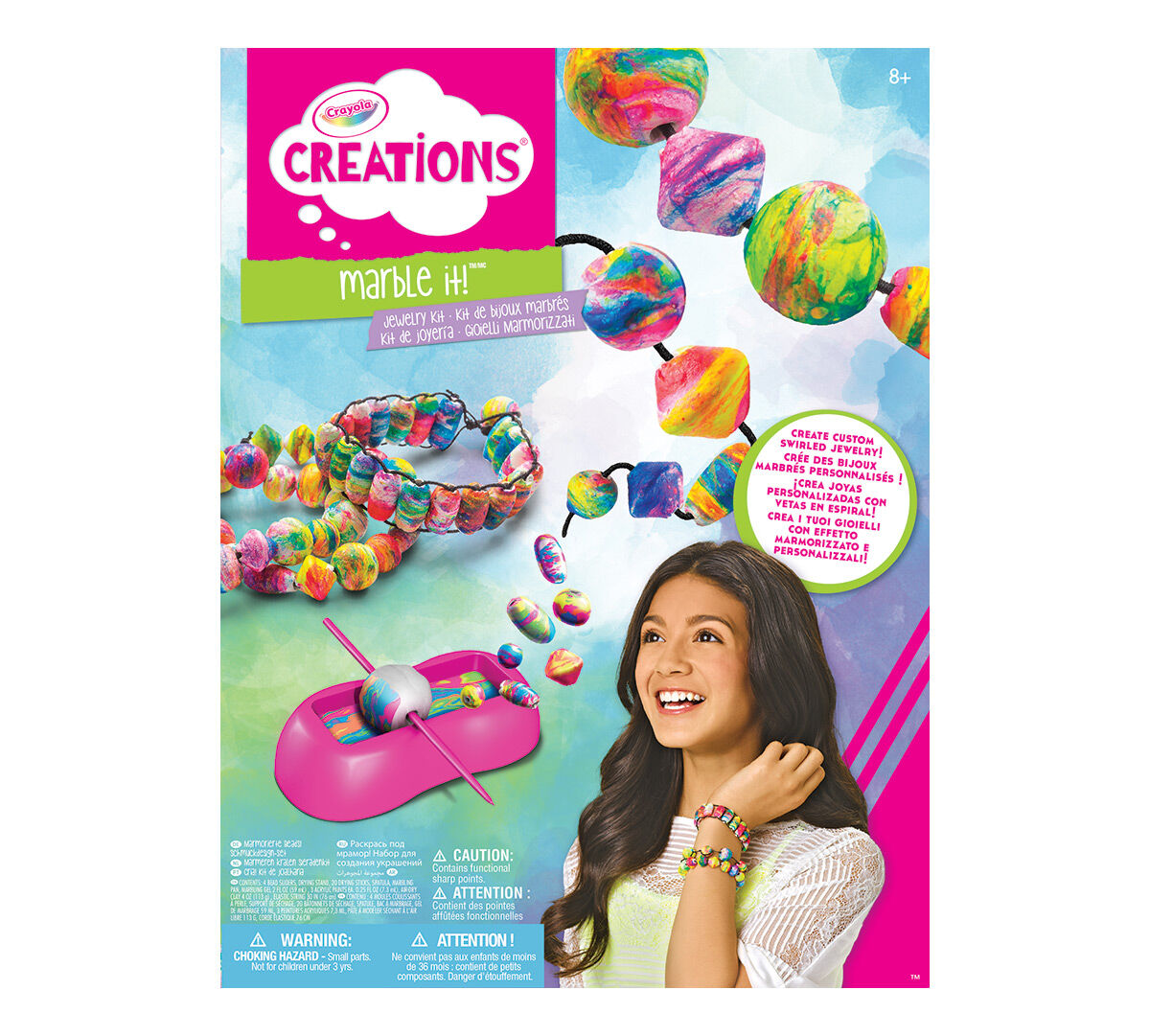 Crayola creations marbling it jewelry kit crayola Crayola fashion design studio reviews