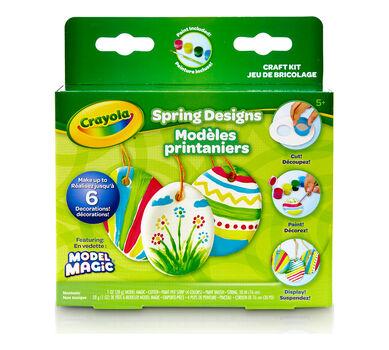 Model Magic Springtime Crafts