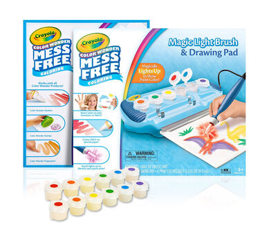 Color Wonder Magic Light Brush Deluxe Kit