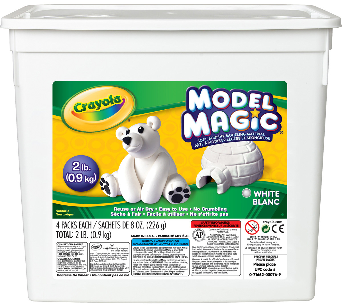 Model Magic 2 lb. Resealable Bucket-Choose Your Colors