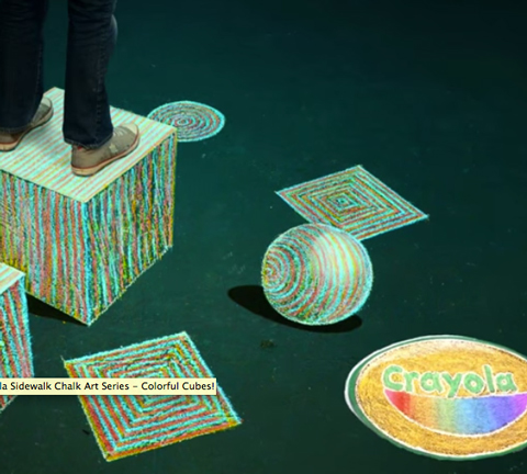 Special Effects Sidewalk Chalk - Multicolor