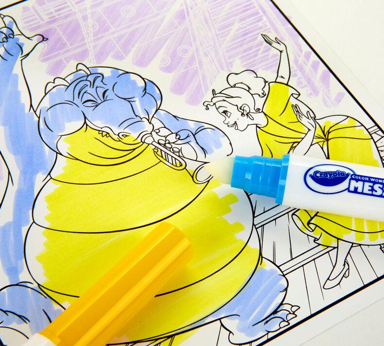 Color Wonder Mess Free Princess Coloring & Activity Pad