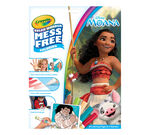 Color Wonder Mess Free Moana Coloring Pages & Markers Front View