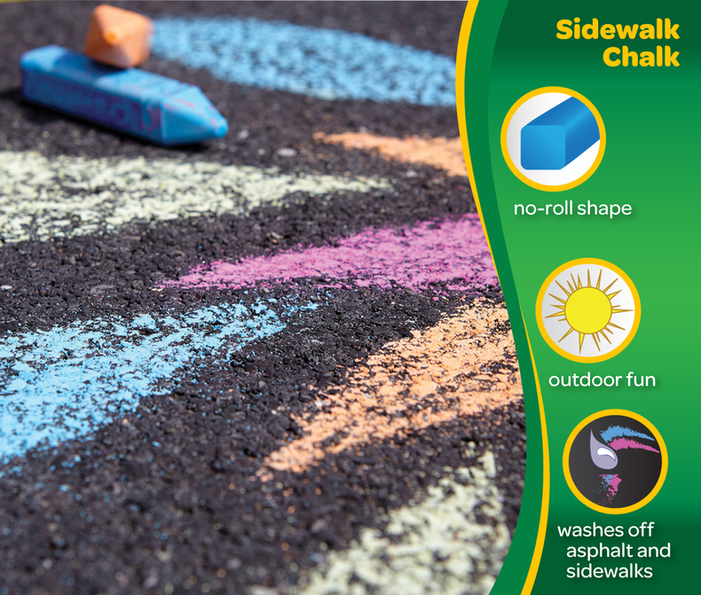 Sidewalk Chalk, 48 Count