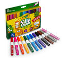 Silly Scents Markers Wedge Tips 12 count markers