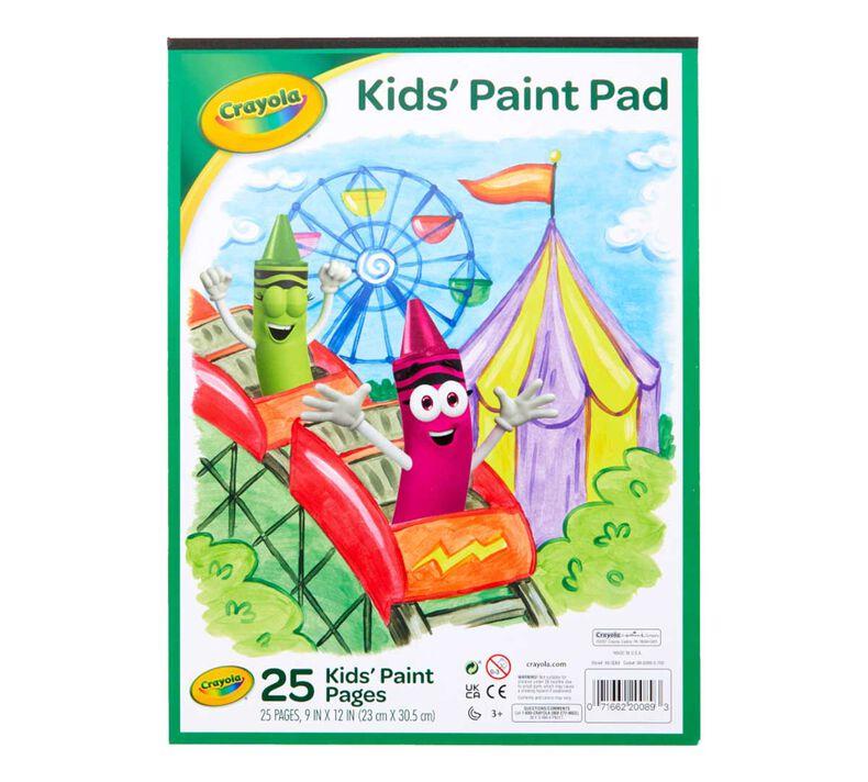 Painting Paper Pad, 25 Sheets