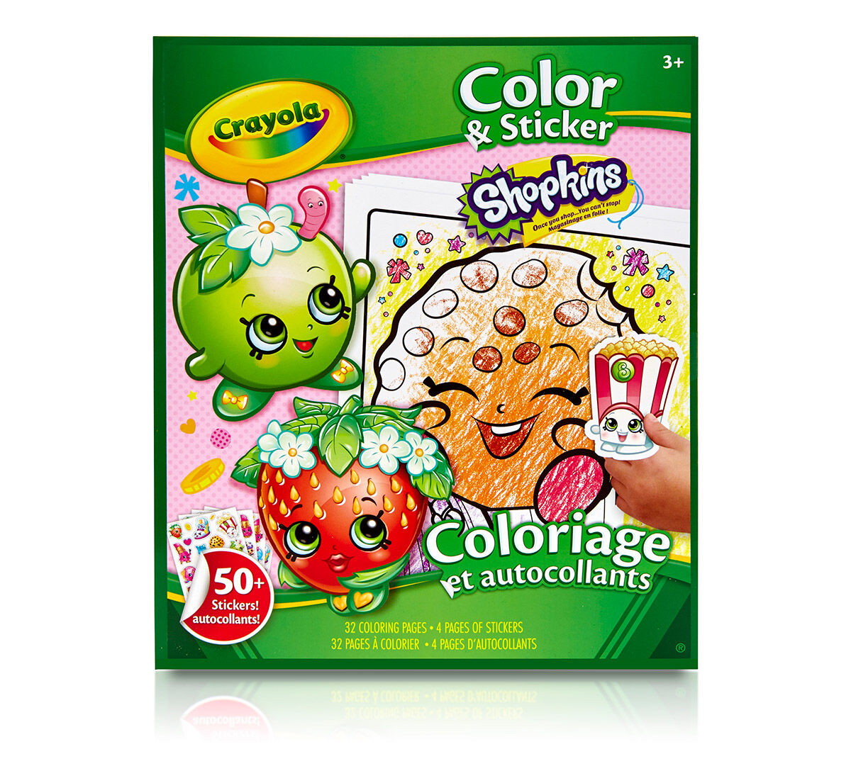 Crayola Color & Sticker, Shopkins, Art Activity, Great For Travel Crayola