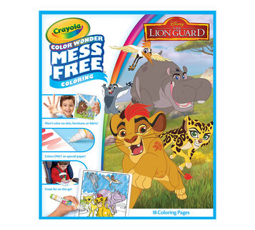 Color Wonder Coloring refill Pages Lion Guard front cover